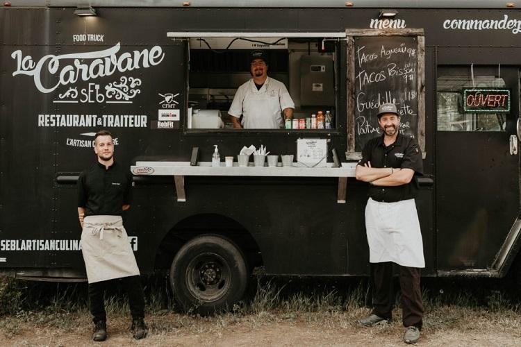 sEb l'Artisan Culinaire food truck