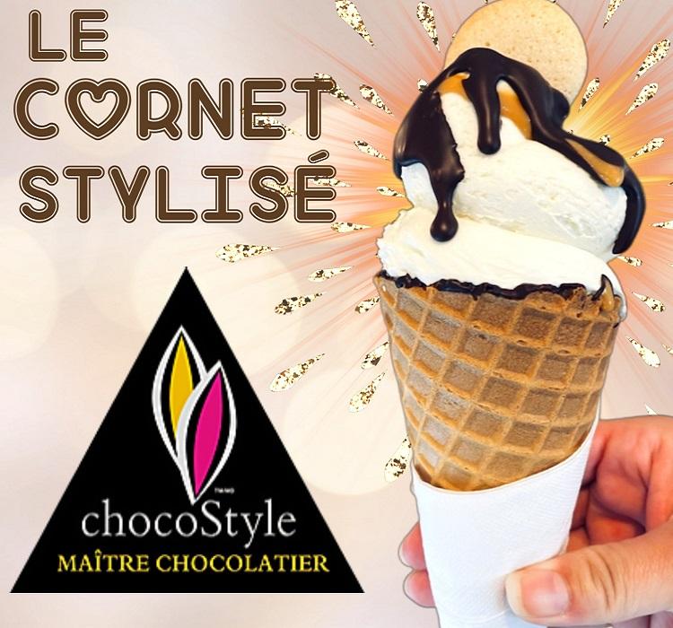 Ice cream at ChocoStyle