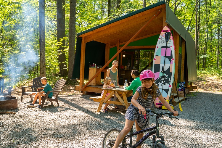 Adventure and the outdoors in the Laurentians