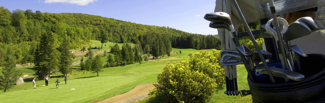 Golfing season has officially begun in our beautiful Laurentians. The courses are simply magnificent, the greenery extends beyond the horizon, the views are incredible, and the hilly courses are calling!